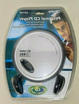 NEW Curtis CD149 Personal CD Player Portable with Headphones