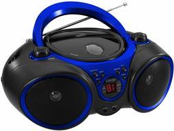 New Jensen Portable Stereo CD Player Boombox AM/FM Radio LCD