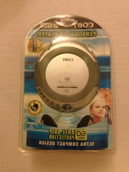 NEW Sealed Coby CX-CD329 Portable CD Player