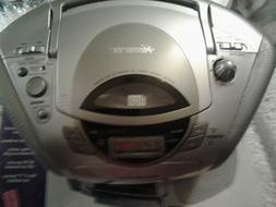 NEW BOOMBOX MEMOREX SMALL AM FM RADIO AND CD PLAYER MP3131