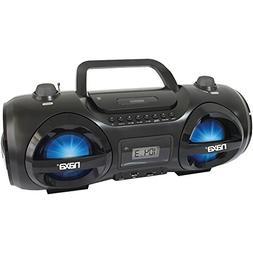 NAXA NPB-258 CD/MP3 Party Boom Box & USB/SD Card Player elec