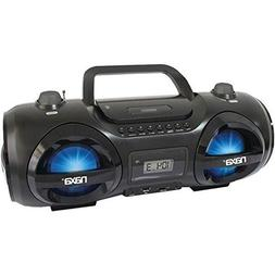 Naxa Npb-258 Cd/Mp3 Party Boom Box & Usb/Sd Card Player
