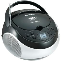 NAXA NPB252BK Portable CD/MP3 Players with AM/FM Stereo  Com
