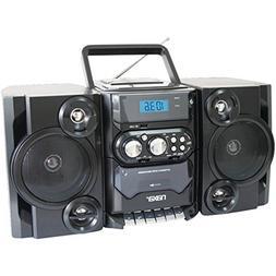 NAXA NPB428 Portable CD Player Boombox AM/FM Radio USB & Aux