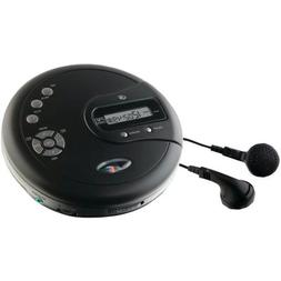 Gpx Pc332b Black Personal Cd Player Fm Radio 60 Second Anti