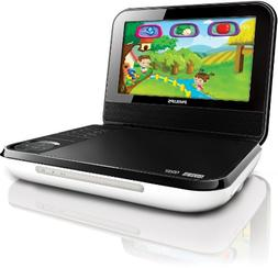 Philips PD703/37 7-Inch LCD Portable DVD Player with Wireles