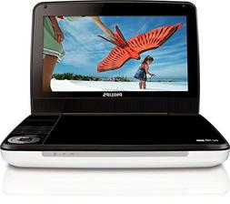 Philips PD900037 9-Inch LCD Portable DVD Player -SilverBlack