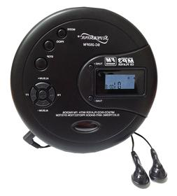 Supersonic Personal CD Disc Player w/MP3 FM Scan Radio 120 S