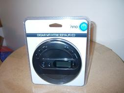 ONN Personal Portable CD Player with FM radio