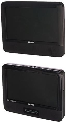Philips PD9012/37 LCD Dual Screen Portable DVD Player, 9-inc