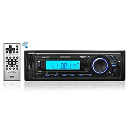 Car Stereo Head Unit Receiver - Premium AM/FM Media Radio w/