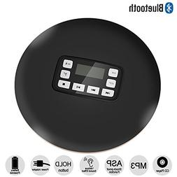 HONGYU Portable Bluetooth CD Player with LED Display /Headph