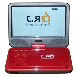 "Portable Car Video DVD CD Player 10.1"" Swivel Flip Screen 5"