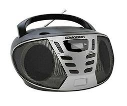 KORAMZI Portable CD Boombox with AM/FM Radio,AUX IN,Top Load