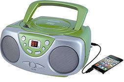 Sylvania Portable Cd Player & AM/FM Radio Mega Bass Reflex B
