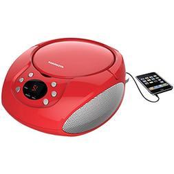Sylvania Portable Cd Player & AM/FM Radio Tuner Mega Bass Re