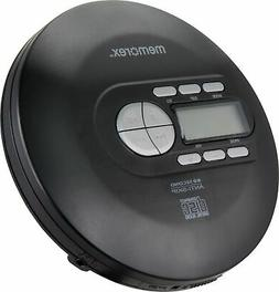Memorex - Portable CD Player - Black