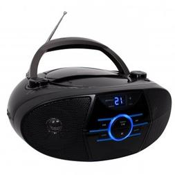 Jensen Portable CD Player BLUETOOTH AM/FM Radio Boombox with