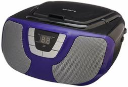 Sylvania Portable CD Player Boom Box with AM/FM Radio