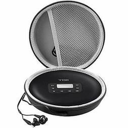 Portable CD Player Compatible Case Rechargeable Personal Com