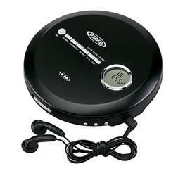 Jensen Portable CD Player Slim CD Personal MP3/CD/FM Radio P