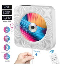 Portable CD Player with Bluetooth,Wall Mountable CD Player H