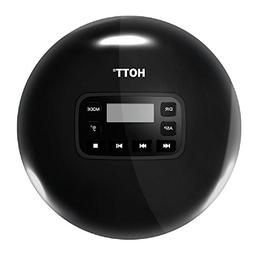 Portable Compact CD Player with LCD Display, HOTT CD611 Pers