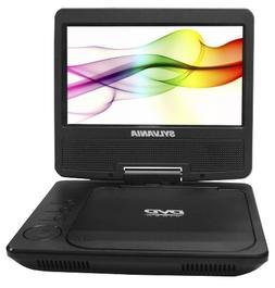Sylvania 7-Inch Portable DVD Player with Built-In Rechargeab