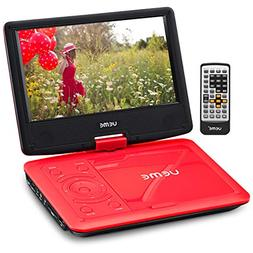 UEME Portable DVD CD Player with 9 Inches Screen, Car Headre