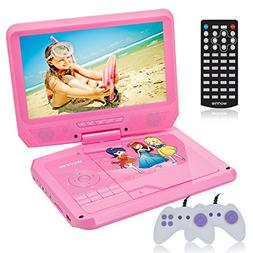 9.5 Inch Portable DVD Player for Car with Games Function for