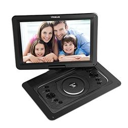 "SUAOKI 14.1"" Portable DVD Player Multi-media with Car Headre"