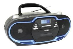 NAXA Electronics Portable MP3/CD Player, AM/FM Stereo Radio