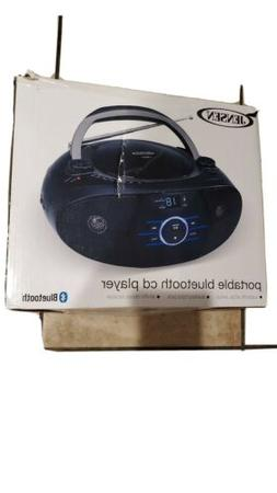 JENSEN Portable Stereo CD Player with AM/FM Stereo Radio & B
