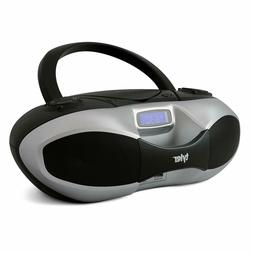 Tyler Portable Sport Stereo MP3CD Boombox Player TAU104-SL w