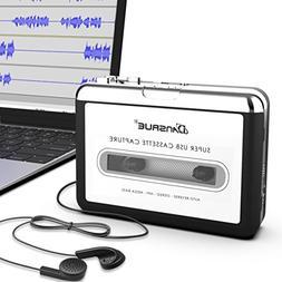 Dansrue Portable USB Cassette Player Tape to MP3 Converter R