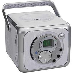 Jensen Portable Wireless BLUETOOTH Top Loading CD Player wit
