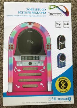 PPG CD Jukebox Speaker System RetroDesktop Bluetooth MP3 Sma