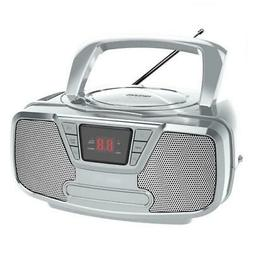 Riptunes Programmable CD Boombox- Portable Boombox, AM/FM Ra