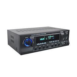 Pyle PT272AUBT 300 Watt Stereo Amplifier Receiver USB/SD,Blu
