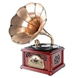 Updated Bluetooth Phonograph Record Player - Portable Versio