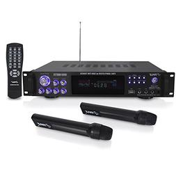 Pyle 4 Channel Home Audio Power Amplifier - 1000 Watt Stereo