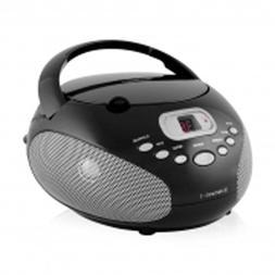 Riptunes CDB200K Top Loading CD Player - Black consumer elec