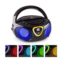 auna Roadie • Boombox • CD • USB Port • MP3 • Radi