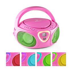 auna Roadie • Boombox • CD • USB Port • MP3 • Radi