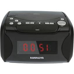 Sylvania SCR4986 Alarm Clock Radio with CD Player and USB Ch