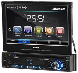 Sound Storm SD726MB Single Din, Touchscreen, Bluetooth, DVD/
