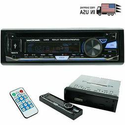 SoundXtreme Single-DIN CD Car Stereo Bluetooth, USB SD & Aux