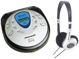 Panasonic SL-SV500 Portable CD Player with FM/AM Tuner