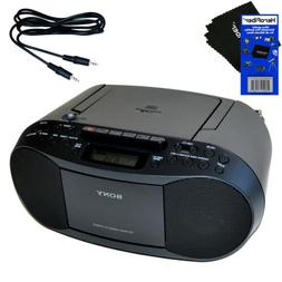 Sony Portable CD Player Boombox with AM/FM Radio & Cassette