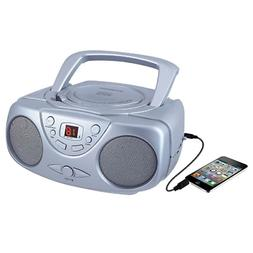 Sylvania SRCD243 Portable CD Player with AM/FM Radio Boombox